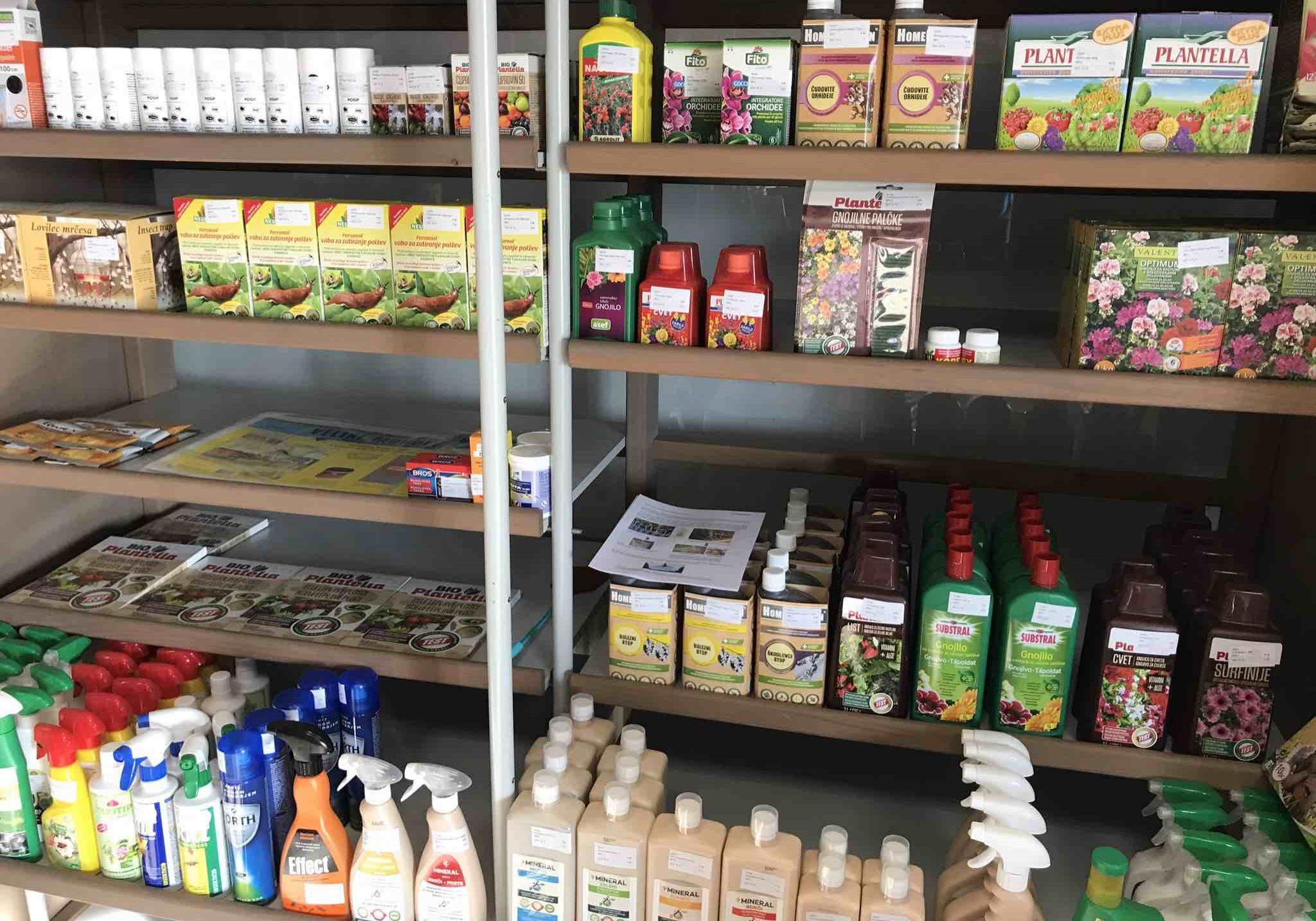kmetijska trgovina cegnar - gnojila